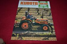 Kubota L3750 Tractor Dealers Brochure BWPA