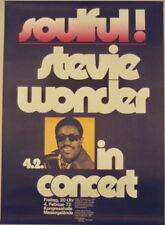 Stevie Wonder Concert Tour Poster 1972 Kieser Motown