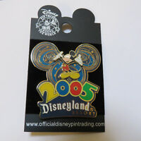 Disney DLR - Disneyland 2005 Collection Mickey Mouse Pin