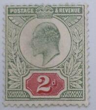 GB King Edward VII 2 Pence Mint Hinged ST203