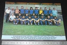 CLIPPING POSTER FOOTBALL 1985-1986 D2 FC ISTRES