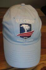 Us Open Championships 2019 Pebble Beach Baseball Cap, Hat, Blue, Strapback, Euc