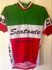 c88bf1629 World Jerseys Scattante Italia Short Sleeve Cycling Bike Jersey Mens XL
