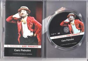 Caro Petrolini (1983) - il teatro di Gigi Proietti - dvd ottime condizioni