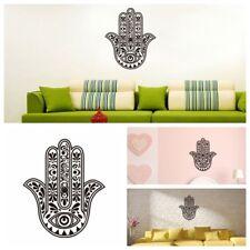 Removable Vinyl Mandala Flower Hamsa Fatima Hand Eye Wall Sticker Decal Mural