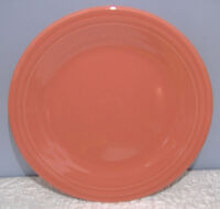 NEW FIESTAWARE FLAMINGO PINK 10.5  DINNER PLATE FIESTA Retired Color & NEW FIESTAWARE FLAMINGO PINK 10.5