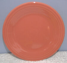 "NEW FIESTAWARE FLAMINGO PINK 10.5"" DINNER PLATE FIESTA Retired Color"