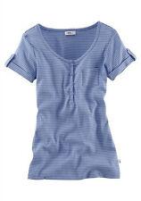 """Damen- Streifenshirt von""""Flashlights"""" Gr. 36/38 blau-weiß"""