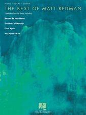 The Best of Matt Redman Sheet Music Piano Vocal Guitar SongBook NEW 000307080