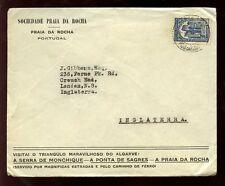 PORTUGAL 1935 PRAIA DA ROCHA ADVERTISING ENVELOPE ALGARVE