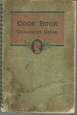 *CLEVELAND OH ANTIQUE c1940 or older *CHILDREN'S GUILD COOK BOOK *LOCAL ADS *