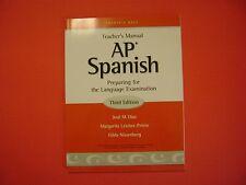 Prentice Hall AP Spanish Teacher's Manual Third Edition