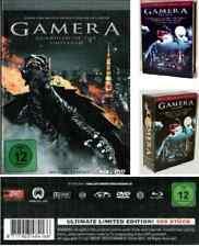 Gamera GUARDIAN OF THE UNIVERSE - DVD / Blu-ray Mediabook in Ultimate Box - NEU
