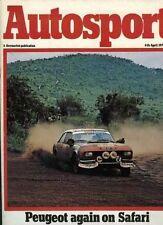 Autosport avril 6th 1978 * USA West Grand Prix *