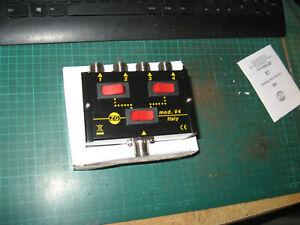 ZETAGI  mod-v4 4-Way Antenna Switch Coax Radio Signal so239
