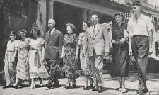 Gov. Warren & Dewey & Families 1948 * Presidential Election Republican RNC