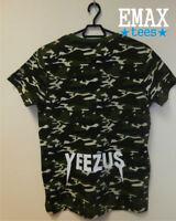 Yeezus T Shirt Camo, Yeezy Tshirt Kanye West for President, Camouflage Yeezus