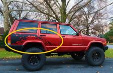 1984 - 2001 Cherokee XJ Raptor Mud Splash vinyl graphics decals fits : JEEP xj