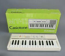 Casio Casiotone MT-11 Keyboard VINTAGE in Ovp top Zustand! Fach B4