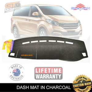 Charcoal Dash Mat for LDV G10 SV7A SV7C Suits all models May/2015-2020 DM1451