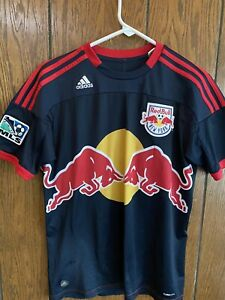 MEN'S ADIDAS RED BULLS SOCCER JERSEY HENRY #14 MEDIUM