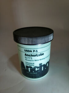 Made in USA Anchorlube G-771 8 oz (1/2 Pt) Jar Cutting Fluid Water Soluble