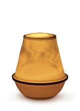 Lladro Lithophane Votive Light ''Engagement 39;' #17379 Brand Nib Porcelain F/Sh
