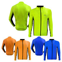 Mens Cycling Jersey Shirt Cycle MTB Top Jacket Full Sleeves Jersey S TO XXL
