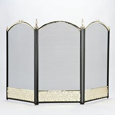 Firescreen Vintage Fire Guard Child Nursery Spark Protector Safety Stove Shield