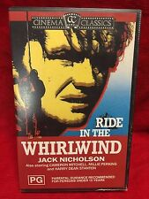 Ride In The Whirlwind VHS Video Tape Movie Jack Nicholson Cinema Classics