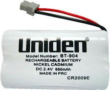 UNIDEN ORIGINAL GENUINE BT802 BT-904 CORDLESS PHONE RECHARGEABLE BATTERY 500mAh
