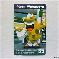 Telecom Book Muncher at BP Service Stations $5 Phonecard (PH2)