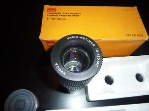 KODAK CAROUSEL S-AV Projektor Objektiv VARIO-RETINAR f=70-120mm