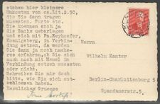 Lithuania 1935 Post Card to Germany with Mi 391; 10.7.1935