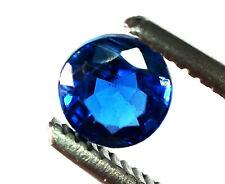 1x Kyanite -  Blau Rund facettiert  5,0mm (2479B)