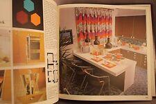 70er anni libro Fibel space age design cor staff Lübke bello libro Villeroy & Boch