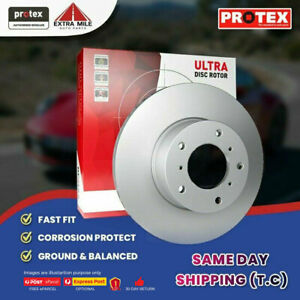 2X PROTEX Disc Brake Rotors - Front For NISSAN X-TRAIL T30 4D SUV 4WD..