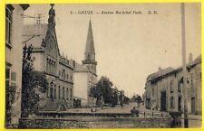 cpa France Lorraine 57 - DIEUZE (Moselle) Avenue du MARECHAL FOCH