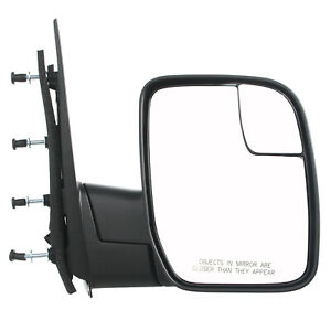 2010-2014 Ford Econoline Van Passenger Side Powered Non Heated Mirror Assembly