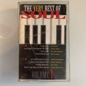 Very Best of Soul Volume 1 (Cassette)