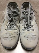 f08acccad0dc Nike Free 5.0 TR FIT 5 704674-100 White Silver Women s Shoes Size 8.5