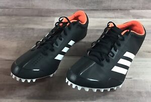 Men's Size 11.5 Adidas Adizero Prime SP Sprint Black White Track Spikes CG3839