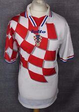 Vintage Croacia Lejos Camiseta De Fútbol Lotto 1998 para hombre XL Raro
