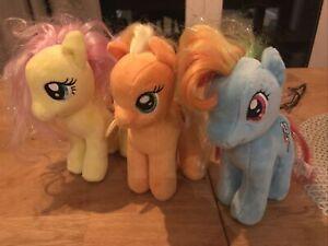 My Little Pony TY Plush Bundle x3
