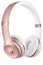 NEW Beats by Dr Dre Solo 3 Wireless On-Ear Headphones - Rose Gold