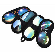 Novelty sun glasses Sleep eye mask travel cover aid sleeping shade New Design