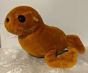 "Commonwealth The Golden Seal 12"" Vintage 1984 Movie Plush - Sealife Ocean Animal"