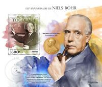 Togo Science Stamps 2020 MNH Niels Bohr Physics Nobel Prize Famous People 1v S/S