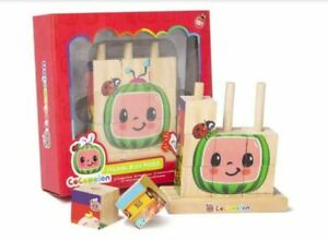 Cocomelon Wooden Stacking Block Puzzle Age 18Months+