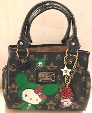 Tokidoki x Hello Kitty Boston Sandy Bag ~ Mini Black ~ Handbag Purse  LT ED 2008